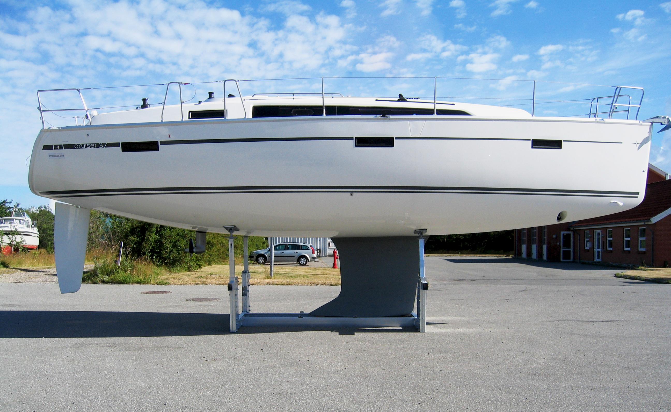 Mobile bådstativer Type 08Ton med båd