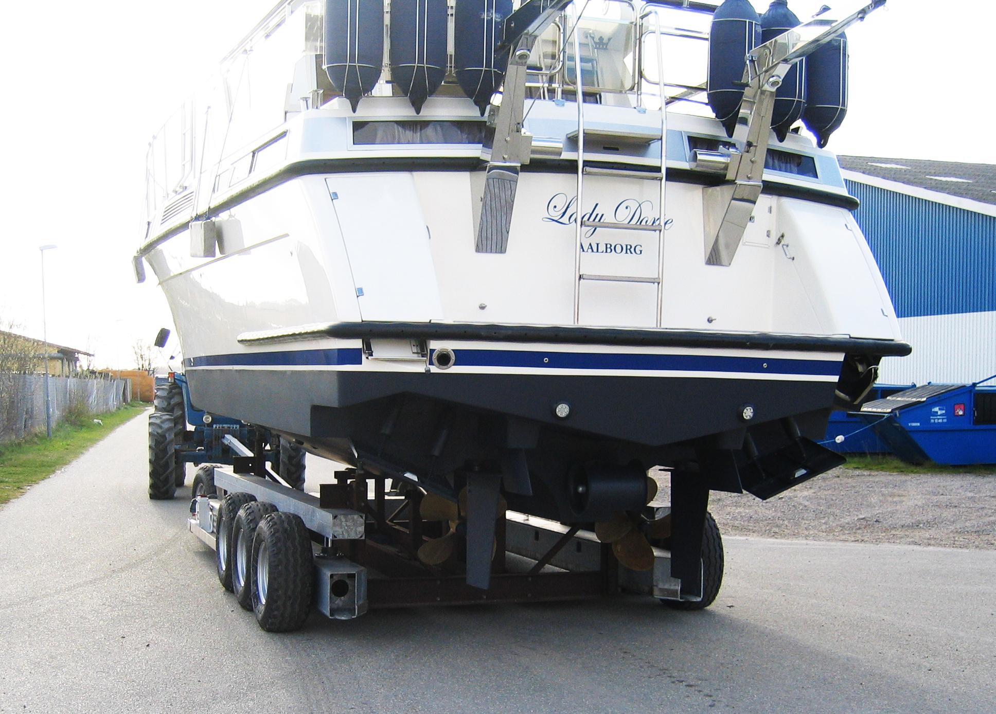 Type 30H-8G Hydraulisk løftevogn motorbåd bag