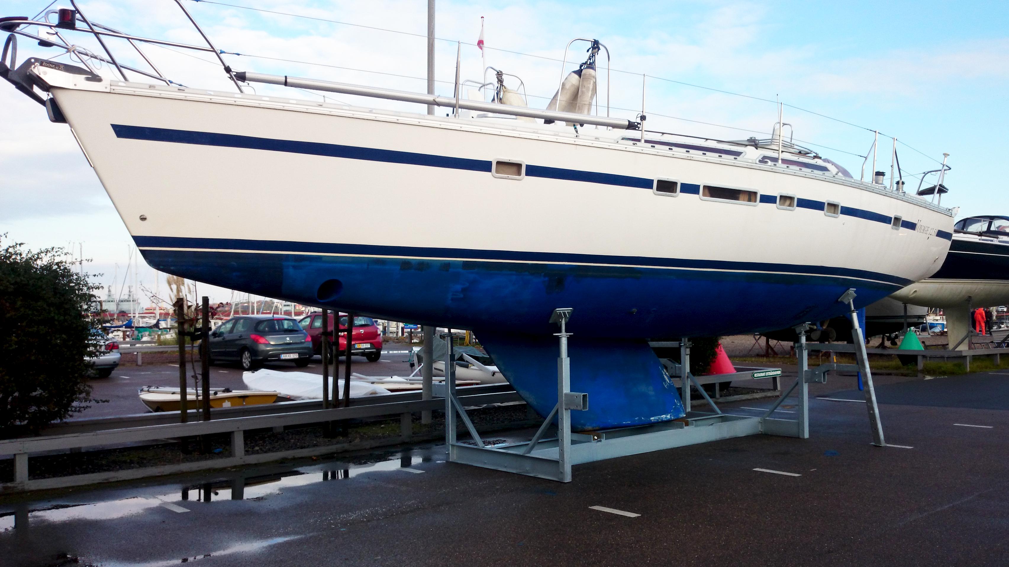 Mobile bådstativer Type 12Ton