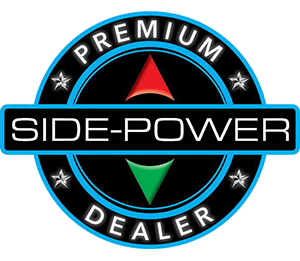 Side power Premium Dealer logo