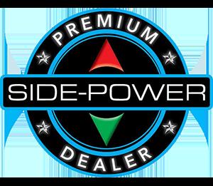 Side power Premium Dealer logo