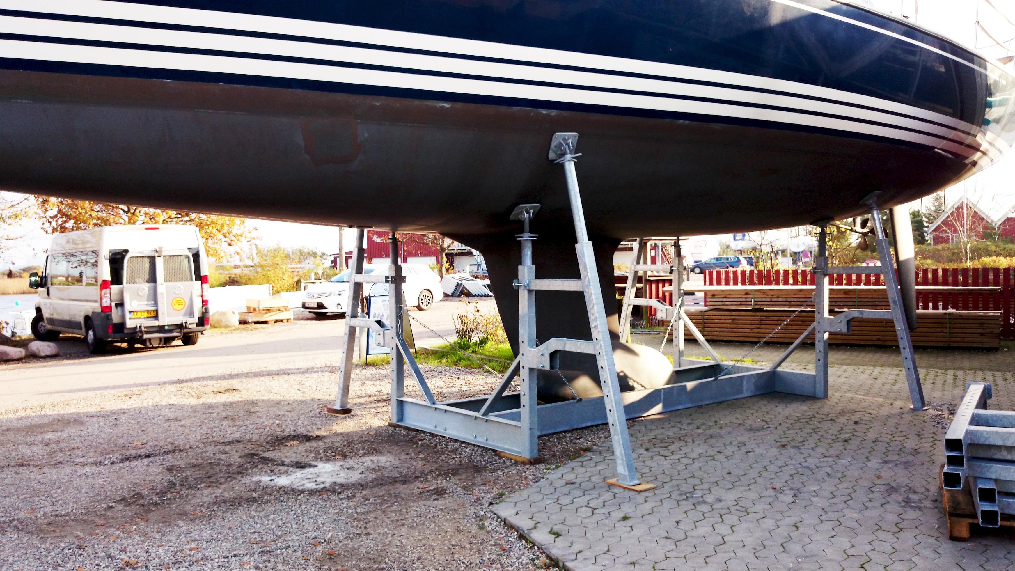 Type 18Ton mobile bådstativer 2