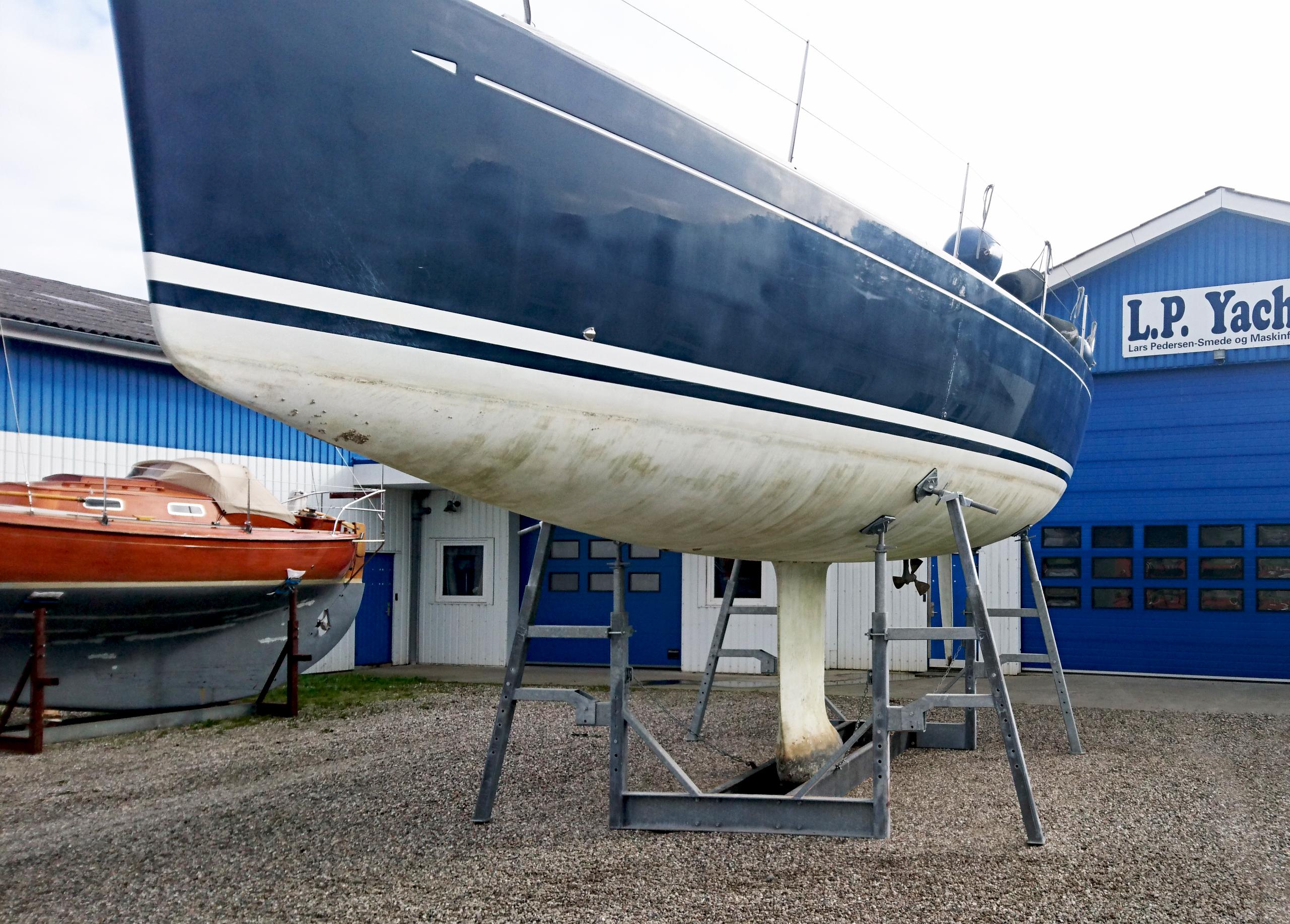 Type 18Ton mobilt bådstativ
