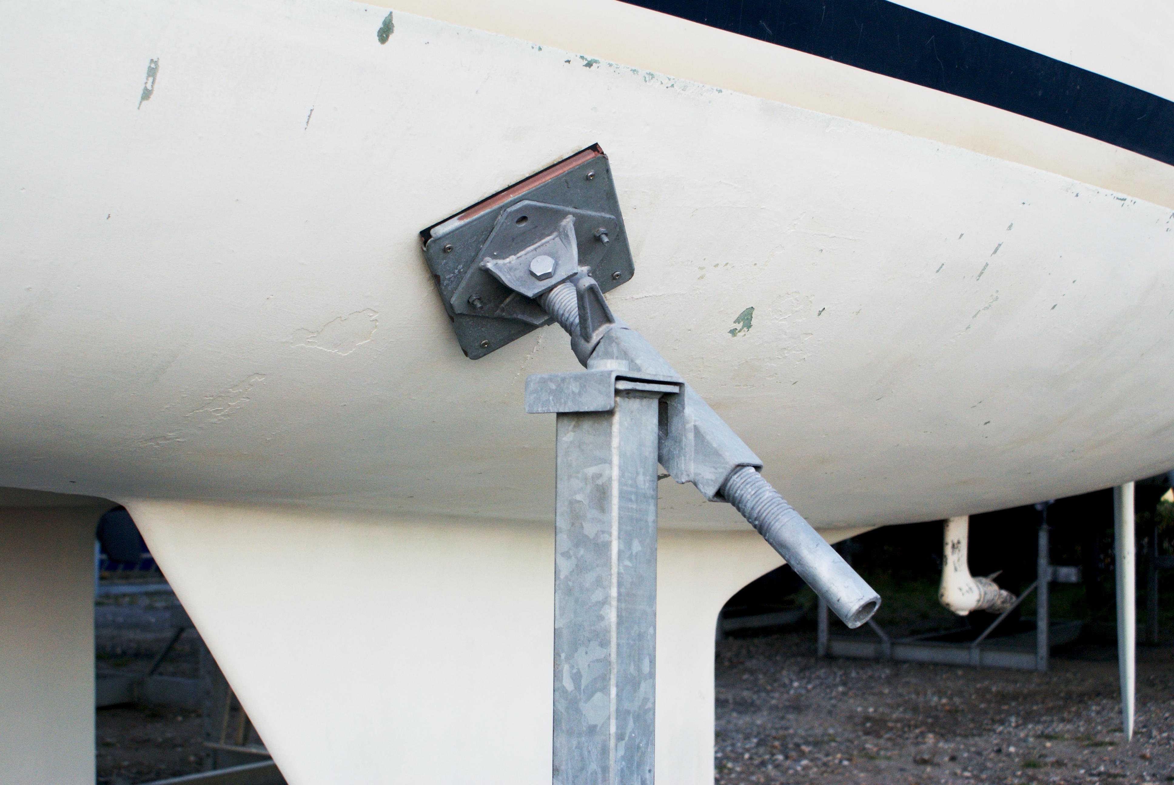 Type 06 Ton mobile bådstativer med vinkelknæ