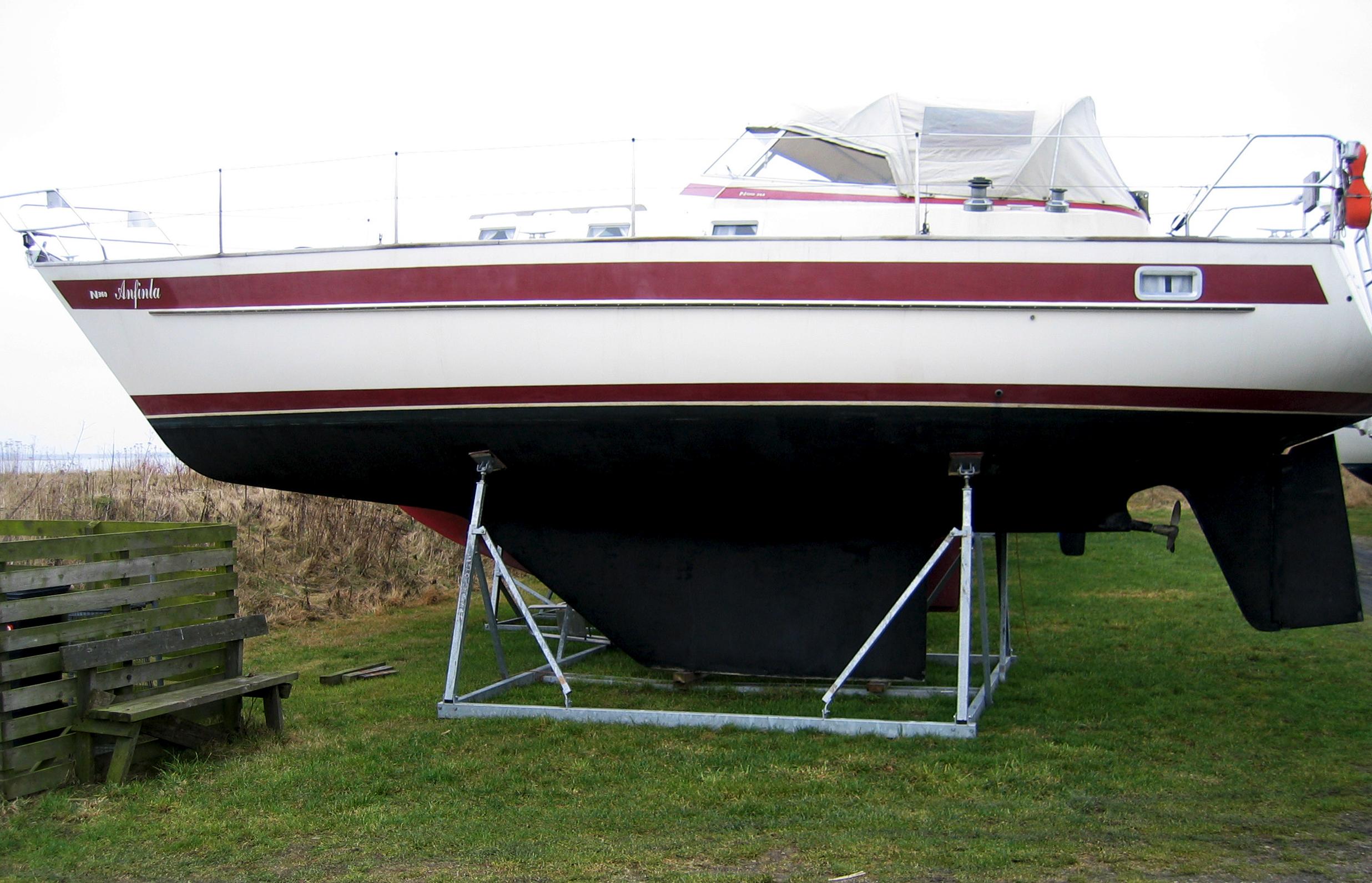Alm. bådstativer sejlbåd 4
